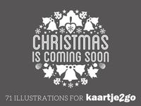 71 Illustrations for Kaartje2go