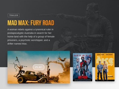 Movie Slider Mad Max