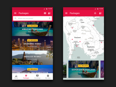 PrivateHolidays Android App