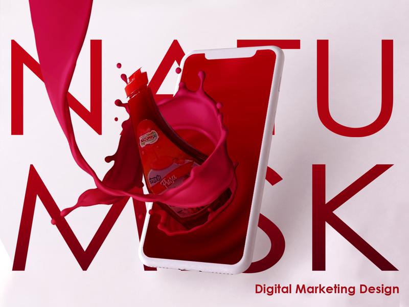 Natumisk Digital Marketing Design social media templates socialmedia dribbble design marketing campaign advertising design marketing site publicity design marketing agency