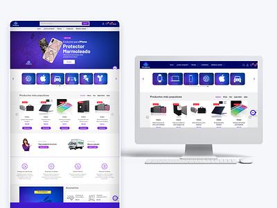 Project: iShopping Ecuador Web Design web design company web development web design agency web shop web store ecommerce shop ecommerce design ecommerce website design web designer webdesign website web design