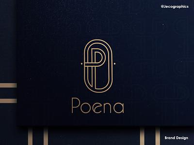 Brand design Poena Style digital marketing marketing agency logo design branding logo design logodesign logo designer brand branding design branding brand identity