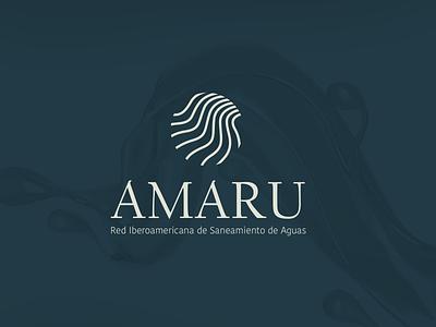 Brand design Ibero-American AMARU Network logo mark logo design branding logo design marketing agency logodesign logo designer brand brand identity branding design branding