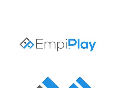Brand design for EmpiPlay video game online store brand identity logo logo mark logodesign logo designer logo design branding marketing agency logo design branding design branding