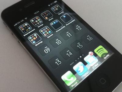 iPhone4 Grid Wallpaper iphone4 wallpaper ui design grid typography