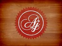 Settled wedding logo