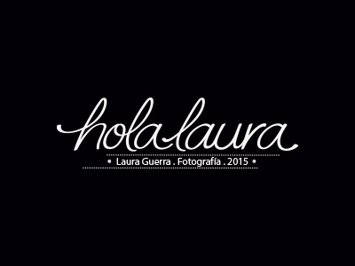 holalaura signature by Laura Guerra | Dribbble | Dribbble