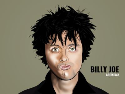 Vector Art Illustration: Billy Joe