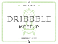 Dribbble Meetup at Houzz!