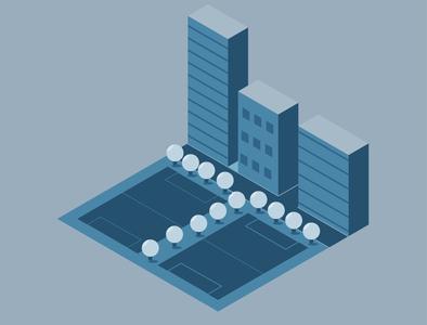 Isometric City block 3d art vectorart illustration illustrator isometric illustration isometric design isometric art isometric