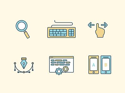 UX Icons  ui ux illustrations icons