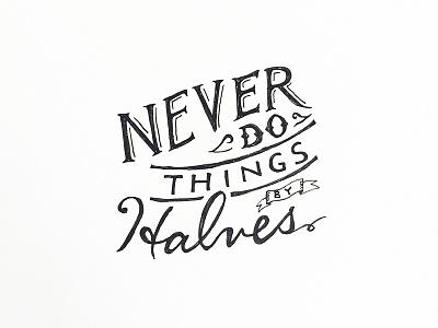Daily HandLettering #20150322 handlettering lettering