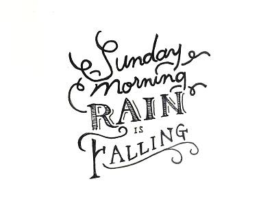 Daily HandLettering #20150405 handlettering lettering typography calligraphy