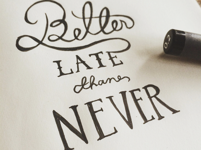 Daily HandLettering #20150523 calligraphy typography lettering handlettering