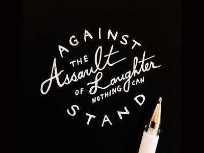 Daily HandLettering #20150525 calligraphy typography lettering handlettering