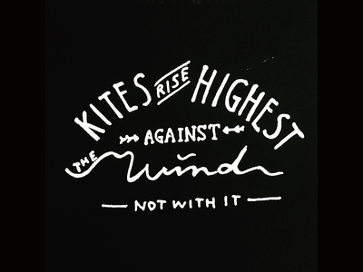 Daily HandLettering #20150526 calligraphy typography lettering handlettering