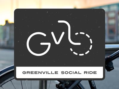 Greenville Social Ride Branding