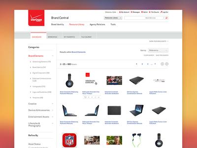 Verizon Brand Central - Home