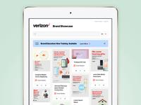 Verizon Brand Showcase - Home