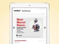 Content Details Page - Verizon Brand Showcase