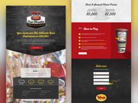 Bojangles' Full Throttle Sweepstakes - Landing Page