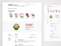 Verizon - Brand Central - Brand Identity Page