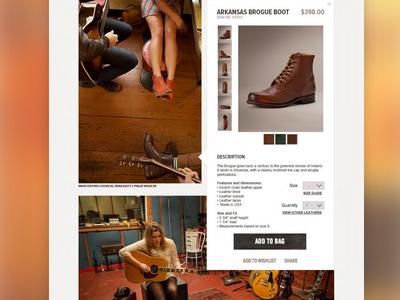 Frye E-commerce Integration