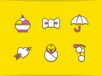 Butter Icons set 2