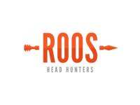 Roos Head Hunters Logo