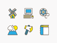 Butter Icons set 3