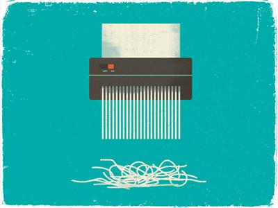 Shred texture vintage illustration symbol paper shredder tax taxes aarp