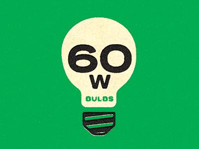 Skull Bulb unexpected vintage light bulb skull green color design texture type logo packaging