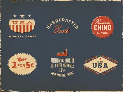 Vintage authentic original quality
