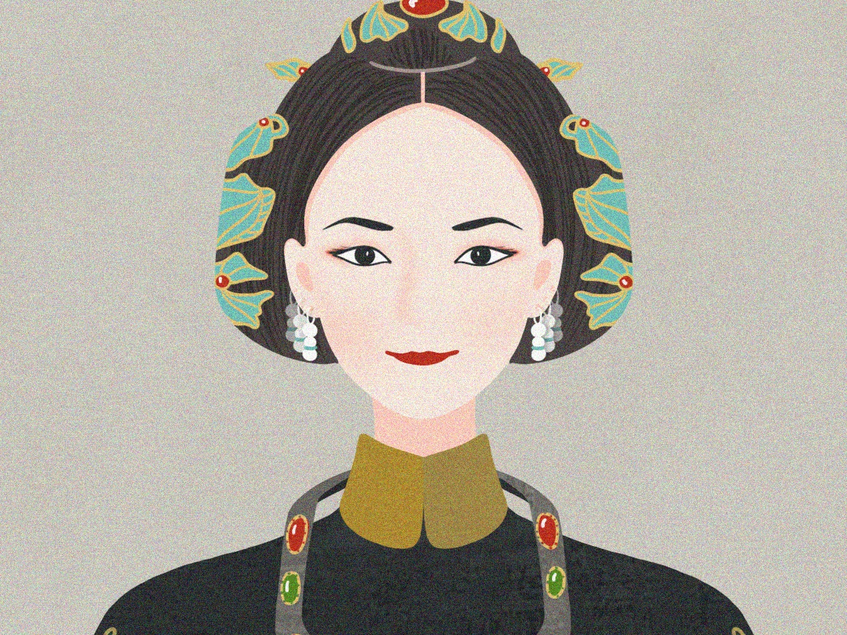 Story of Yanxi Palace emperor chinese illustration china story of yanxi palace person