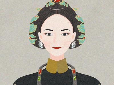 Story of Yanxi Palace emperor chinese illustration china story of yanxi palace person