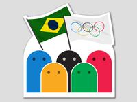 Olympics Flags