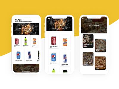 Restaurant App UI Concept