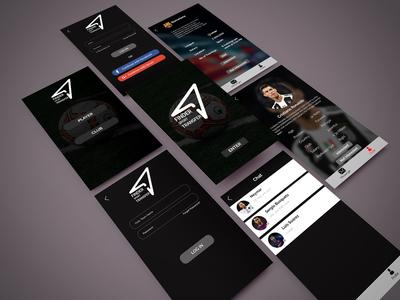 Soccer App UI Design