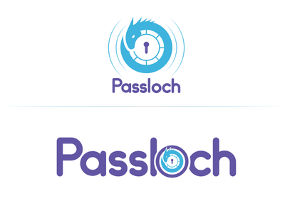 Passloch Mark  mark making branding logo lochness monster monster nessy lochness version 2 process security icons