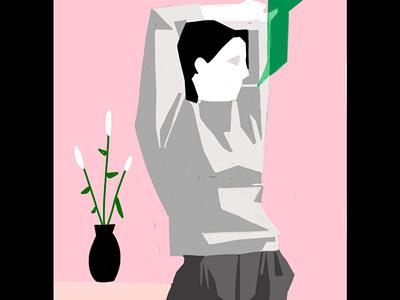 420 wallpaper vector design illustration animation