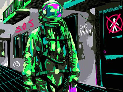 SHOPPING design wallpaper illustration animation