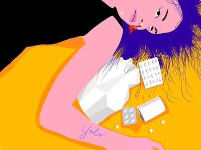 yolo design wallpaper illustration animation