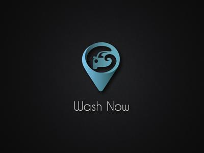 Wash Now app logo branding logo vector