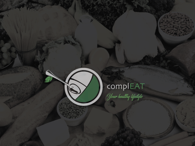 Compleat food/restaurant logo branding vector