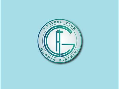 1. Fotbal Club Gloria Bistrita logo branding