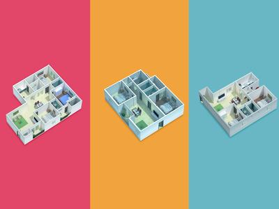 Isometric Apartments
