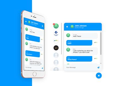 Ecommerce Chat Web Application