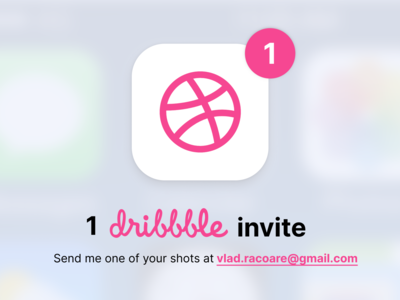One Dribble Invite Giveaway