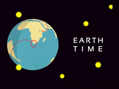 WIP : Earth Time Gif