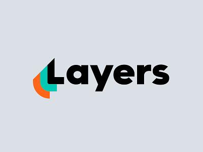 Layers App — Logo identity visual design kalender email task to-do app layers branding logo